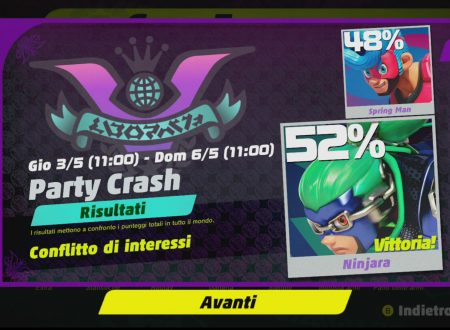 ARMS: Ninjara è il vincitore del nono Party Crash: Conflitto di interessi