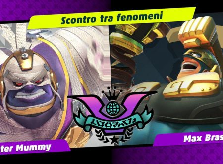 ARMS: uno sguardo in video al decimo Party Crash: Scontro tra fenomeni, Master Mummy vs. Max Brass
