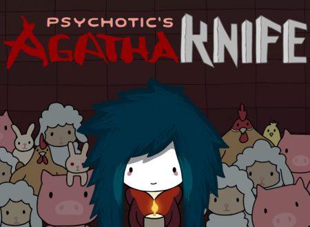Agatha Knife: il titolo aggiornato alla versione 1.0.1 sui Nintendo Switch europei