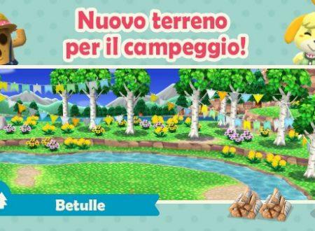 Animal Crossing: Pocket Camp, nuovi elementi del terreno sono ora disponibili nel titolo mobile