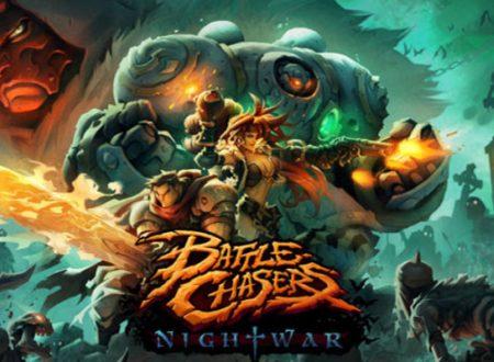Battle Chasers: Nightwar, pubblicato il trailer di lancio del titolo, ora su Nintendo Switch