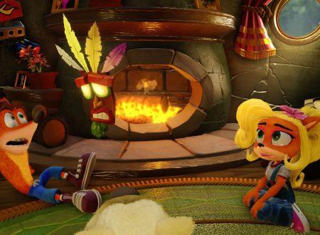 Crash Bandicoot N. Sane Trilogy: il titolo è ora in pre-download sull'eShop europeo di Nintendo Switch