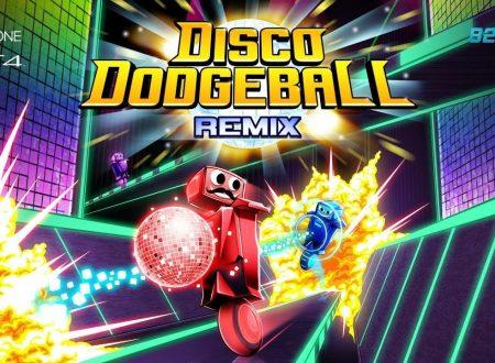 Disco Dodgeball Remix: il titolo è in arrivo il 22 maggio sull'eShop di Nintendo Switch