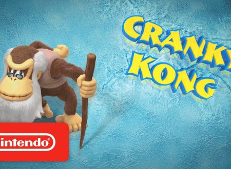 Donkey Kong Country: Tropical Freeze, pubblicato un trailer dedicato a Cranky Kong
