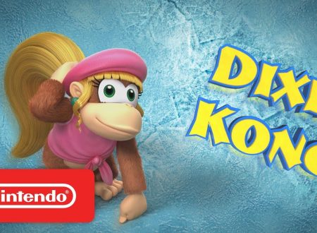Donkey Kong Country: Tropical Freeze, pubblicato un trailer dedicato a Dixie Kong