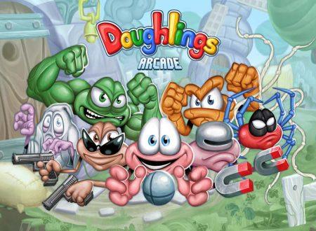 Doughlings: Arcade, il titolo è in arrivo il 13 settembre sull'eShop di Nintendo Switch