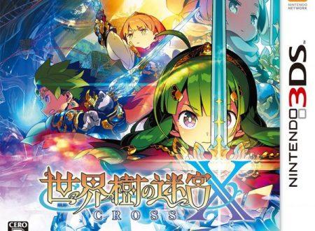 Etrian Odyssey X: mostrata la boxart giapponese del nuovo capitolo in arrivo su Nintendo 3DS