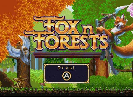 FOX n FORESTS: i primi 23 minuti di video gameplay del titolo dai Nintendo Switch europei