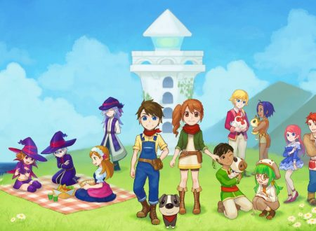 Harvest Moon: Light of Hope, pubblicati nuovi artwork e video gameplay sulla co-op mode