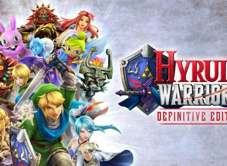 Hyrule Warriors: Definitive Edition, il titolo aggiornato alla versione 1.0.1 sui Nintendo Switch europei