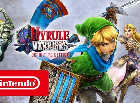 Hyrule Warriors: Definitive Edition, pubblicato il trailer di lancio italiano del titolo