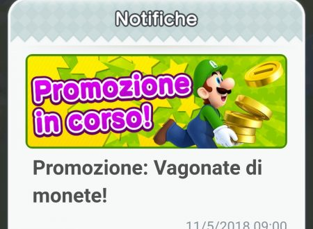 """Super Mario Run: un ritorno per la promozione """"Vagonate di monete"""""""