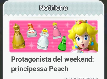 Super Mario Run: disponibile la promozione, Protagonista del weekend: principessa Peach