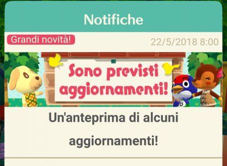Animal Crossing: Pocket Camp, svelati i contenuti del prossimo aggiornamento, Bancarella per gli amici, lista e bonus del giorno