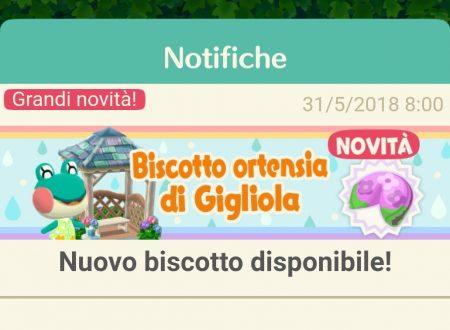Animal Crossing: Pocket Camp, ora disponibile il biscotto della fortuna di Gigliola