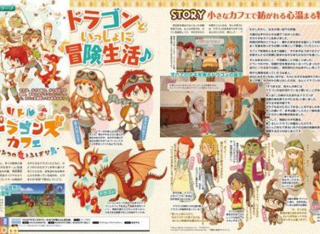 Little Dragons Café: il titolo è in arrivo il 30 agosto sui Nintendo Switch giapponesi