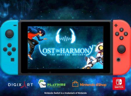 Lost in Harmony: il titolo è in arrivo il 21 giugno sull'eShop di Nintendo Switch