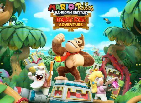 Mario + Rabbids Kingdom Battle Donkey Kong Adventure: pubblicato il trailer del contenuto DLC