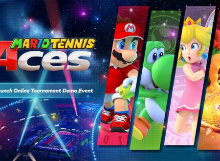 Mario Tennis Aces: Nintendo eShop Card in palio per i migliori giocatori della demo del torneo online