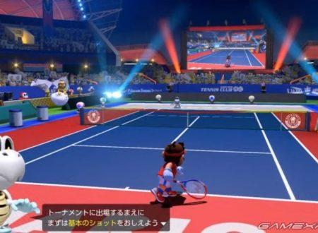Mario Tennis Aces: Tipo Timido e Tartosso saranno presenti nel roster del titolo