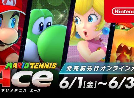 Mario Tennis Aces: il torneo pre-lancio avrà luogo tra il 1 e il 3 giugno 2018