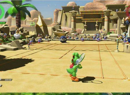 Mario Tennis Aces: nuovi dettagli sui campi in sabbia e della Foresta dal Canale Notizie di Nintendo