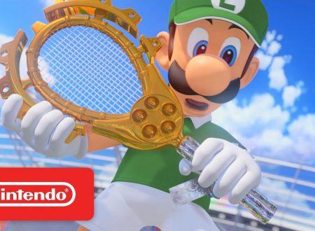 Mario Tennis Aces: pubblicato un nuovo trailer sull'Adventure Mode