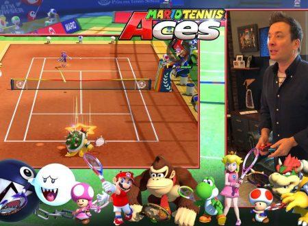 Mario Tennis Aces: pubblicato un video anteprima con Jimmy Fallon