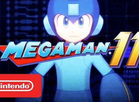 Mega Man 11: il titolo sarà pubblicato il prossimo 2 ottobre su Nintendo Switch