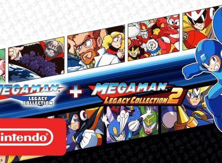 Mega Man Legacy Collection 1 e 2: pubblicato il trailer di lancio delle raccolte