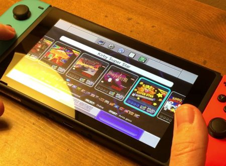 Mostrato un video con il software del SNES Classic Mini all'interno di Nintendo Switch