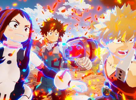 My Hero One's Justice: il titolo in arrivo il 23 agosto sui Nintendo Switch giapponesi, primi screenshots per Fumikage Tokoyami, Kyoka Jiro e Eijiro Kirishima