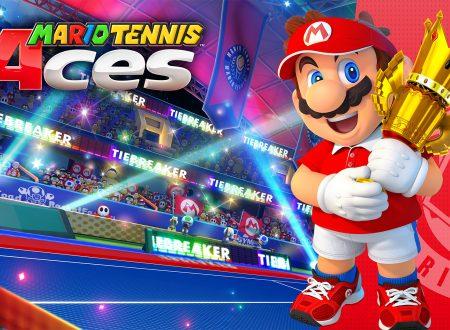 My Nintendo: disponibile uno sfondo per PC e dispositivi mobile dedicato a Mario Tennis Aces