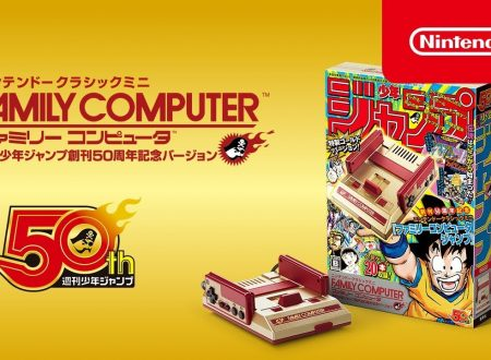 Nintendo Classic Mini Famicom Weekly Shonen Jump 50th Anniversary Edition: mostrati video e screenshots