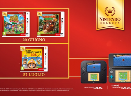 Nintendo Selects: Super Mario Maker, Animal Crossing: New Leaf – Welcome amiibo e Donkey Kong Country Returns 3D entrano nella raccolta