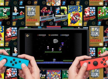 Nintendo Switch Online: nuovi dettagli sul servizio, salvataggi cloud e 20 titoli per NES al lancio di settembre