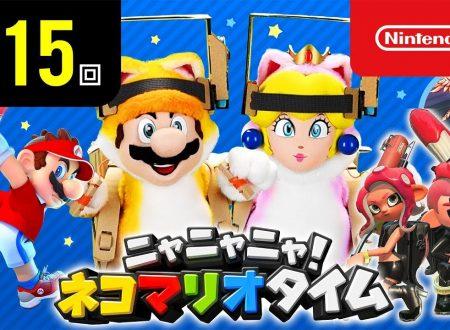 Nyannyan Neko Mario Time: pubblicato l'episodio 115 dello show felino con Mario e Peach