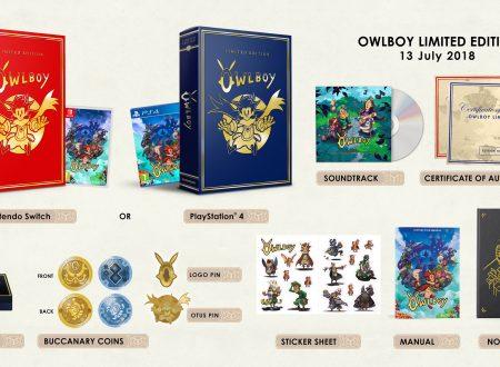 Owlboy: Limited Edition è in arrivo il 13 luglio sui Nintendo Switch europei