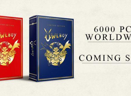 Owlboy: svelata la Limited Edition, con solamente 6000 pezzi disponibili