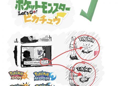 Pokèmon for Nintendo Switch: emersi dei nuovi rumors sul titolo, Pokémon Let's Go! Pikachu, remake di Kanto ed altro