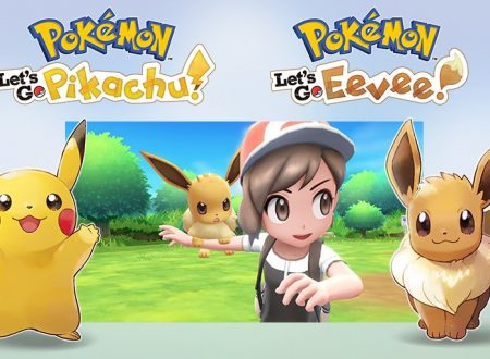 Pokemon Let's Go! Pikachu e Eevee annunciati ufficialmente, in arrivo a novembre su Nintendo Switch