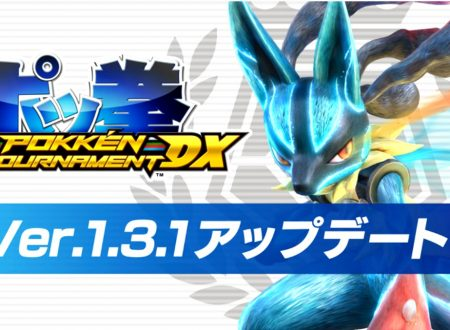 Pokkèn Tournament DX: ora disponibile la versione 1.3.1 del titolo sui Nintendo Switch europei