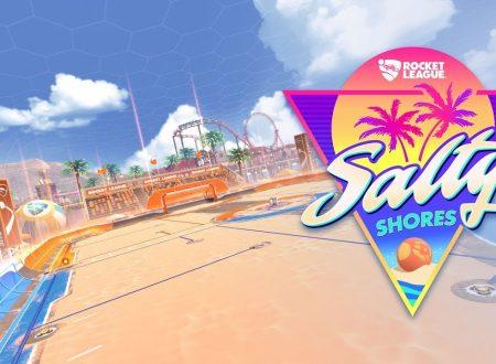 Rocket League: il Salty Shores Update è in arrivo il 29 maggio anche su Nintendo Switch