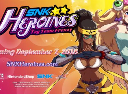 SNK HEROINES Tag Team Frenzy: Sylvie e Zarina saranno presenti nel roster del titolo