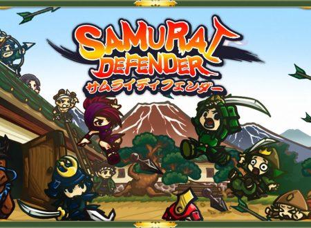 Samurai Defender: Ninja Warfare, pubblicato il trailer di lancio del titolo