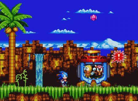 Sonic Mania Plus: pubblicati dei nuovi screenshots ed artwork sul titolo