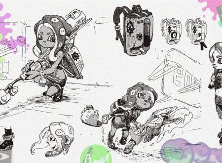 Splatoon 2: Hisashi Nogami in video sulla Octo Expansion, nuovi concept art pubblicati