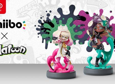 Splatoon 2: gli amiibo di Alga e Nori ora in preorder sul Nintendo UK Store