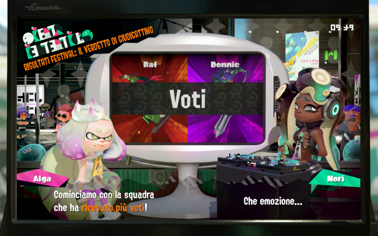 Splatoon 2: svelati i risultati dello Splatfest: Teenage Mutant Ninja Turtles: Raffaello vs. Donatello?