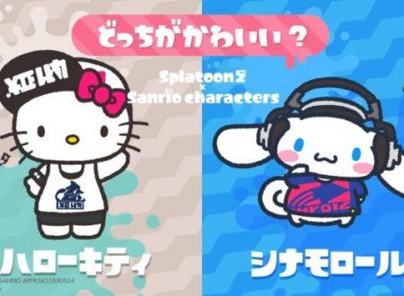 Splatoon 2: svelati i risultati dello Splatfest giapponese, Hello Kitty vs. Cinnamoroll, in collaborazione con Sanrio
